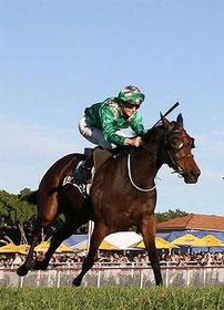 Filly Claims Barnstorming Win