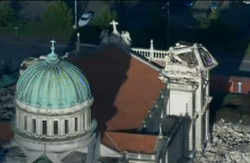 God Defend New Zealand: Christchurch Earthquake