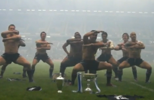Haka Following Edinburgh 7s Win