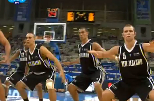 Tall Blacks Perform Haka