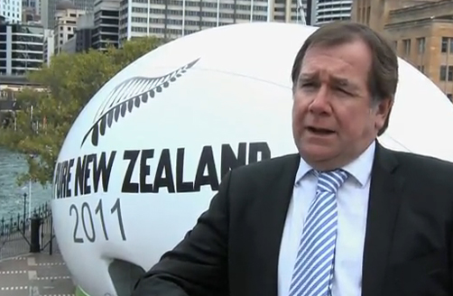 Giant Rugby Ball in Sydney