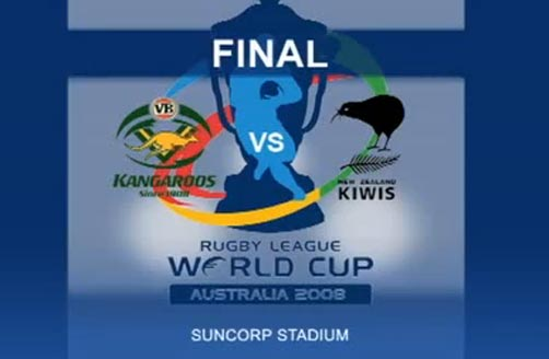 2008: Rugby League World Cup Final