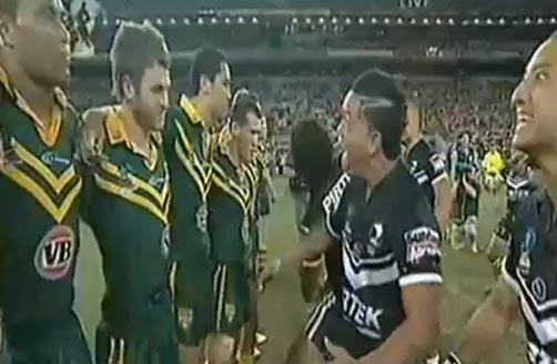 2008 Rugby League World Cup Haka