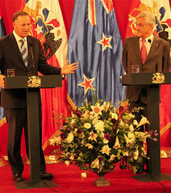 Chile and NZ Sign Agreement on Science