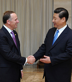 China and New Zealand Trade on Track for  $20 Billion by 2015