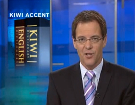 One News: Kiwi Accent