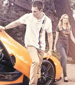 Drive Your McLaren Supercar in Retro-Chic