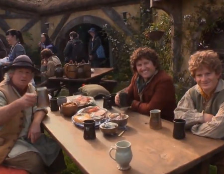 The Hobbit: Behind the Scenes – Production Video Blog Part 5
