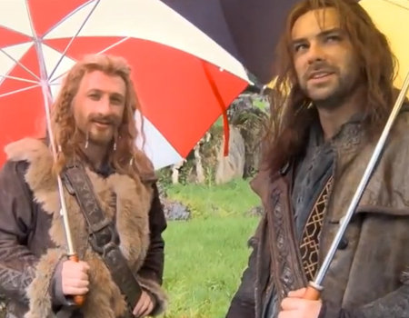 The Hobbit: Behind the Scenes – Production Video Blog Part 6