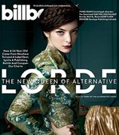 Lorde Lands Cover of Billboard Magazine