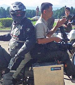 Morgans Charmed on N Korean Motorbike Trip