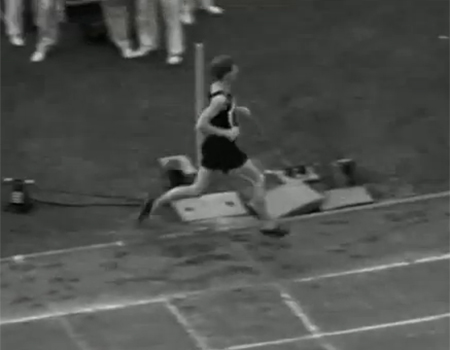 Jack Lovelock's Historic 1500m Win at 1936 Olympics
