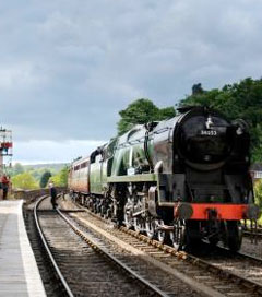 Sir Keith's Locomotive Rededicated in Worcestershire