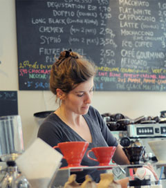 Coffee Revolutionaries Educate the Locals in Lyon