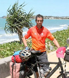 Fifty Thousand Kilometre Journey Peddling for the Heart