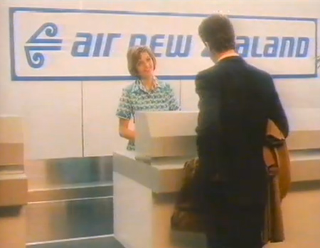 1987 Air New Zealand Ad