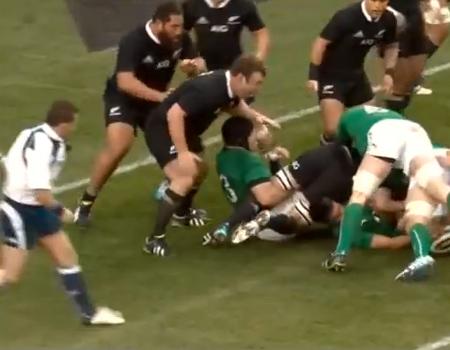 Ireland v New Zealand 2013