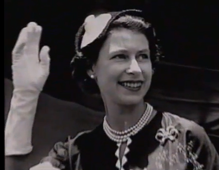 The Queen in New Zealand 1954