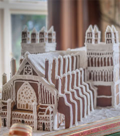 Oamaru-Made Gingerbread Cathedral Pleases Exeter Locals