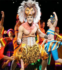 Simba Impresses in Sydney Lion King Production