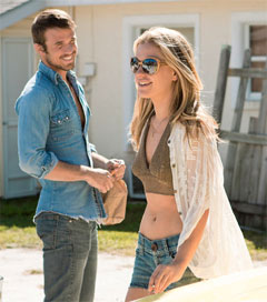 Shrewdly Cast Star of Free Ride Conveys Breezy Believability