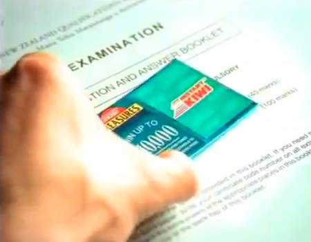 Exam Paper – Lotto Instant Kiwi 1999