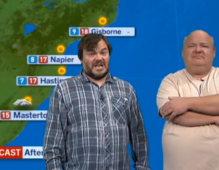 Tenacious D Presents NZ Weather Forecast