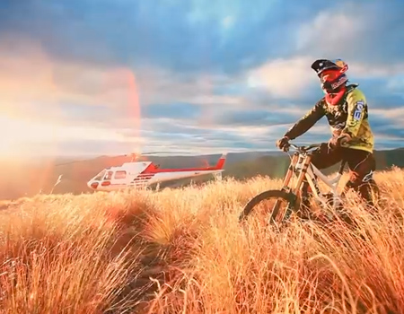 Downhill MTB in NZ with Brook MacDonald – Part 1