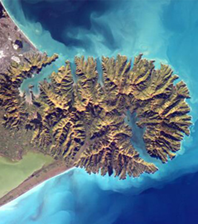 Astronaut Tweets Picture of NZ from Space Station
