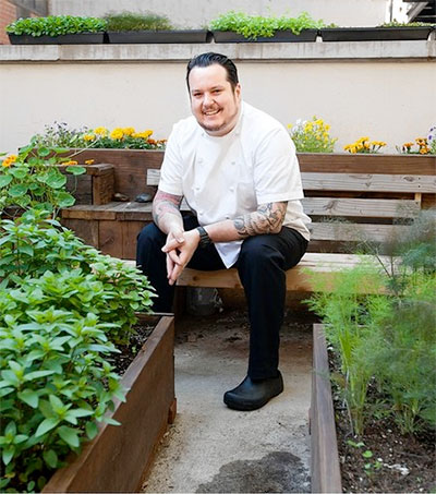 Manhattan Chef a Big Believer in Planting for the Kitchen