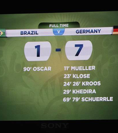 Kiwi Punter Makes Global News with Germany – Brazil Prediction