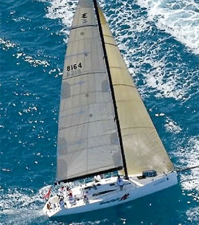 Bullrush Hits Blue Water in Whitsundays Airlie Beach Race Week