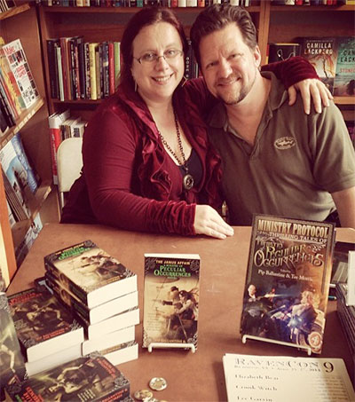 Couple's Literary Steampunk Adventure Continues