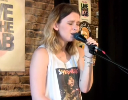 "Broods perform ""Four Walls"" Live on RadioBDC"