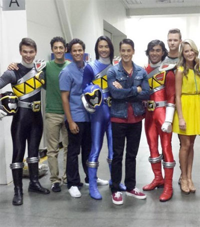Black Ranger Power Given to Local Actor James Davies
