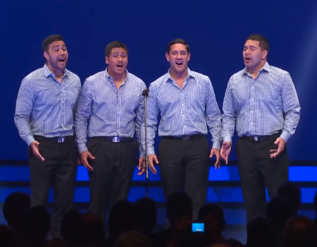 God Defend New Zealand – Musical Island Boys