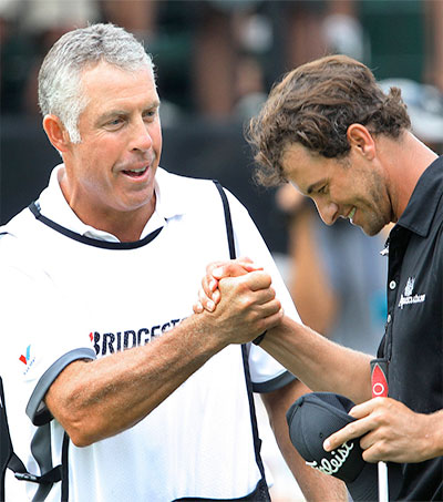Steve Williams Inducted into the Caddie Hall of Fame