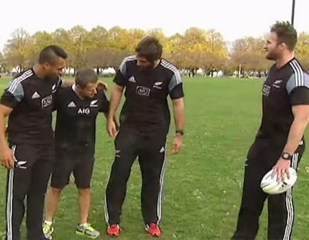 New Zealand All Blacks On FOX 32 Chicago News