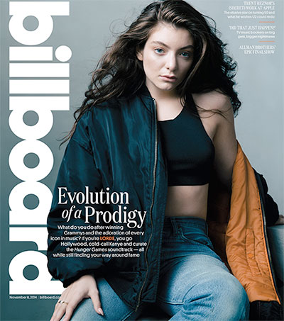 Lorde Dishes up Pre-fame Secrets for Billboard