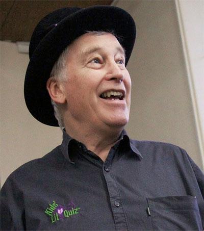 Storyteller Wayne Mills Celebrates Reading with Kids' Lit Quiz