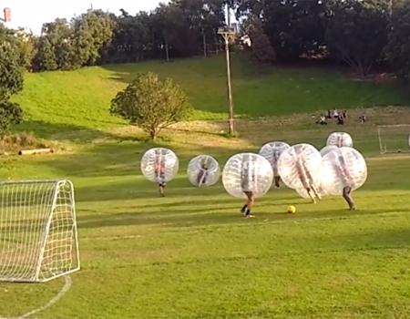 Kiwi Bubble Soccer