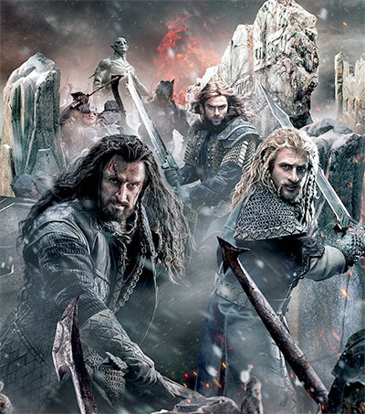Battle of the Five Armies Packs Huge Chain Mail Punch