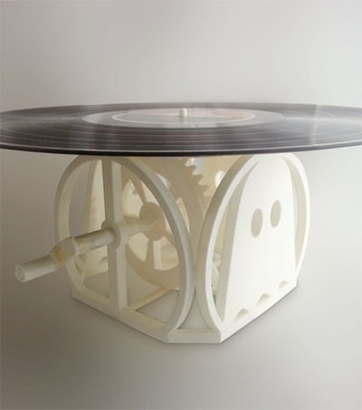 Oana Jones' 3D Printed Record Player Worldwide Hit