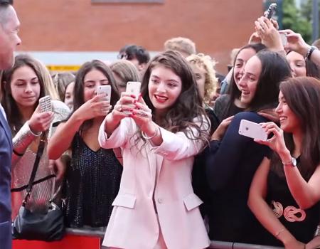 Red Carpet at Vodafone Music Awards NZ 2014