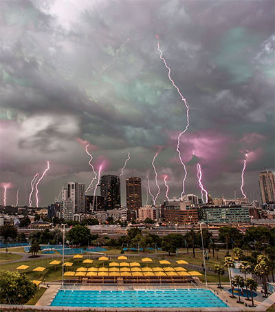 Roland Taylor's Sydney Storm Grabs World's Attention