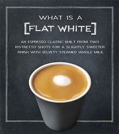Flat White Now Available at Starbucks Throughout the US