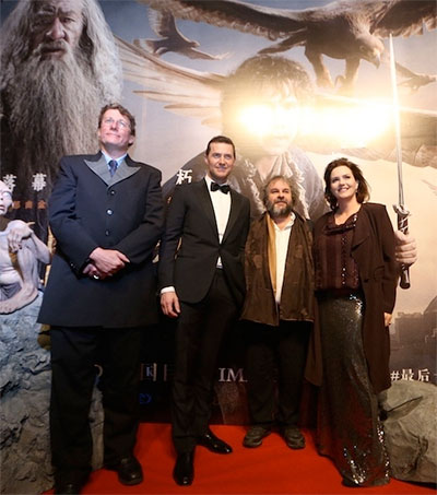Peter the Great's Hobbit Premieres in China