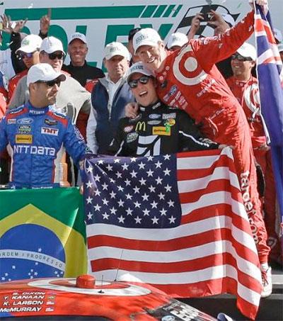 Scott Dixon Sets Crazy Pace Winning Daytona's Rolex 24