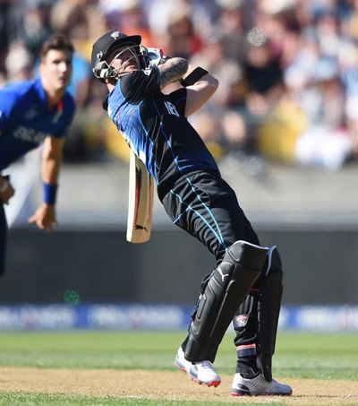 New Zealand Trounce England at Cricket World Cup
