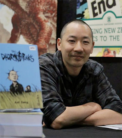 Comic Artist Ant Sang Draws on East and West for Inspiration